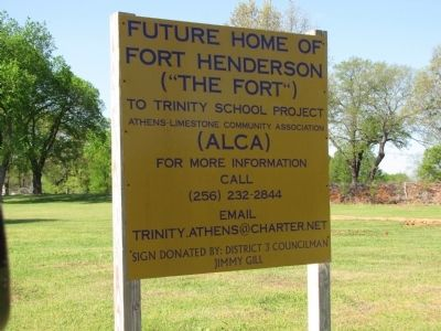 Fort Henderson area development image. Click for full size.