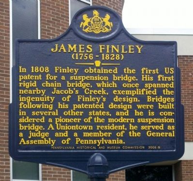 James Finley Marker image. Click for full size.