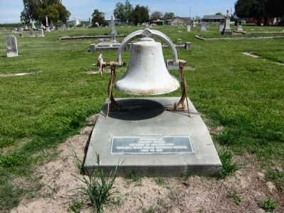 Pierce Christian Church Bell image. Click for full size.