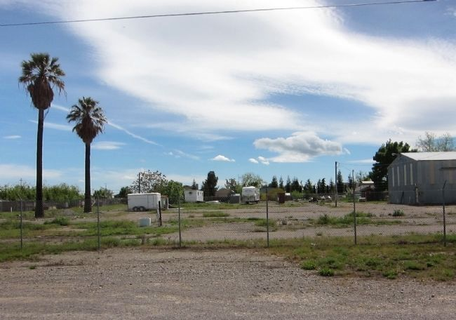 Site of Pierce Christian College today image. Click for full size.