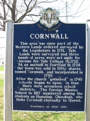 Cornwall Marker image. Click for full size.
