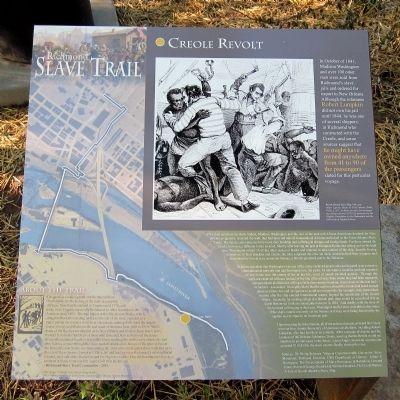 Creole Revolt Marker image. Click for full size.