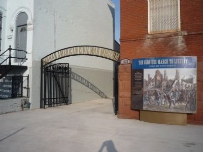 African American Civil War Museum (opened 2011) image. Click for full size.