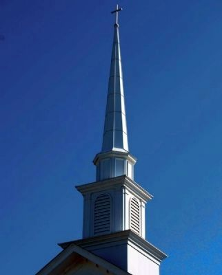 New Hope Baptist Church Steeple image. Click for full size.