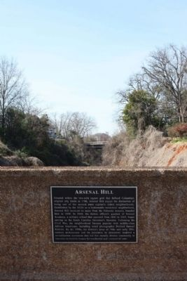 Arsenal Hill Marker image. Click for full size.