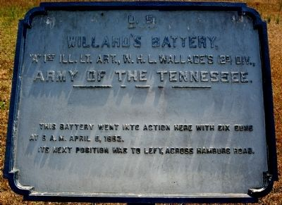 Willard's Battery Marker image. Click for full size.