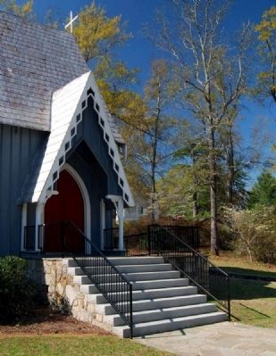 Calvary Church Sanctuary Entrance image. Click for full size.