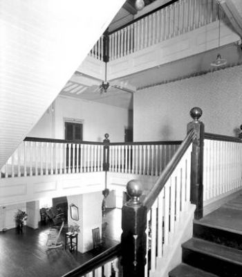 Glenn Springs Hotel -<br>Interior Staircase image. Click for full size.