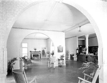 Glenn Springs Hotel -<br>Interior Sitting Room image. Click for full size.