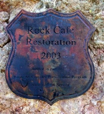 Rock Cafe Restoration Marker image. Click for full size.