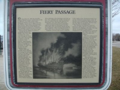 Fiery Passage Marker image. Click for full size.