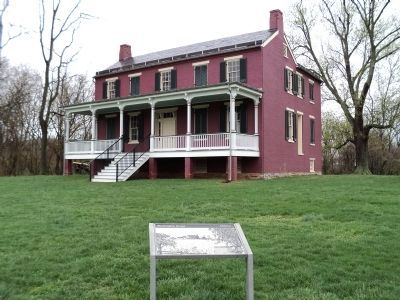 Worthington House and Marker image. Click for full size.