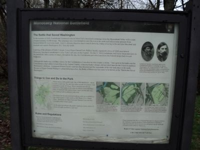 Monocacy National Battlefield Marker image. Click for full size.
