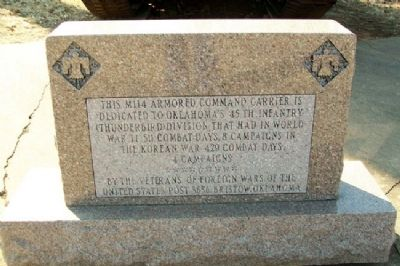 45th Infantry (Thunderbird) Division Memorial image. Click for full size.
