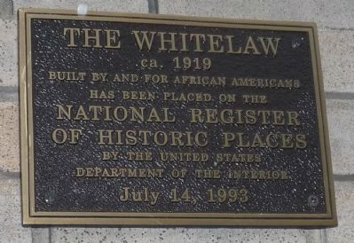 The Whitelaw ca. 1919 image. Click for full size.