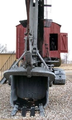 Wilkinson Coal Company Steam Shovel Bucket image. Click for full size.