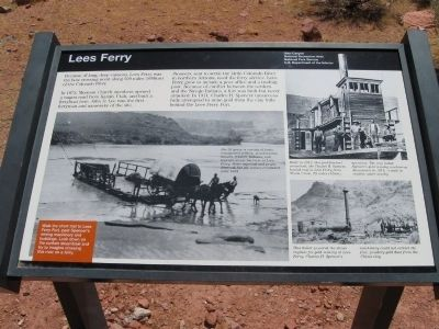 Lees Ferry Marker image. Click for full size.