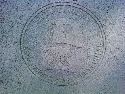 Men of South Carolina Marker detail image. Click for full size.