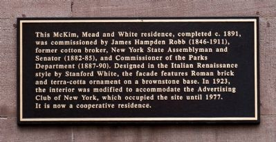 23 Park Avenue Marker image. Click for full size.
