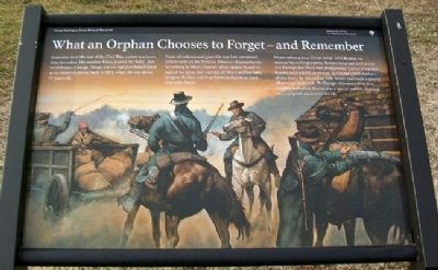 What an Orphan Chooses to Forget - and Remember Marker image. Click for full size.