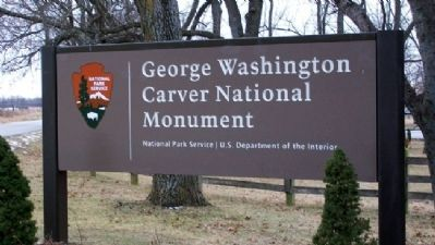 George Washington Carver National Monument image. Click for full size.