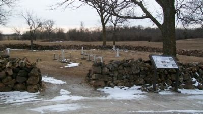 Moses Carver Family Cemetery and Marker image. Click for full size.