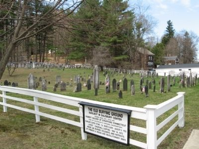 The Old Burying Ground of Salisbury image. Click for full size.