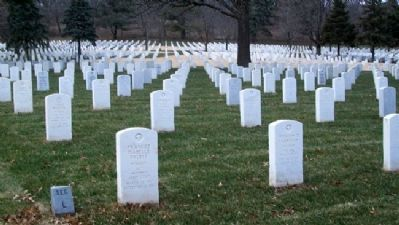 Fort Leavenworth National Cemetery Section L image. Click for full size.