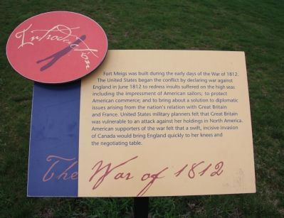 Fort Meigs, Introduction 1, Marker image. Click for full size.