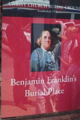 Benjamin Franklin's Burial Place image. Click for full size.