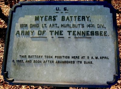 Myers' Battery Marker image. Click for full size.