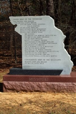 Missouri Marker image. Click for full size.