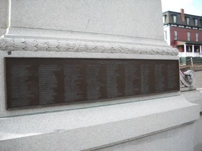Lower Plaque image. Click for full size.