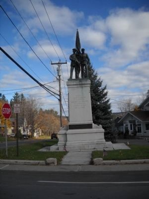 Monument in Hillsdale, NY image. Click for full size.