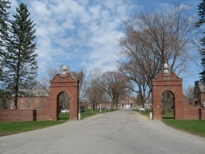 The Entrance to The Hotchkiss School image. Click for full size.