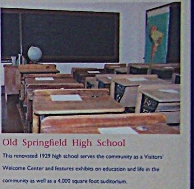 Old Springfield High image. Click for full size.