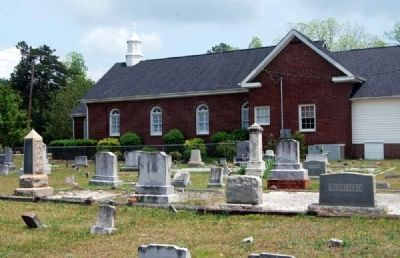 Townville Presbyterian Church and Cemetery image. Click for full size.