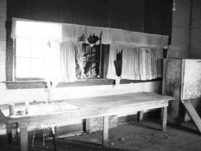 Hope Rosenwald School Interior Industrial Room image. Click for full size.