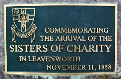 Sisters of Charity Marker image. Click for full size.