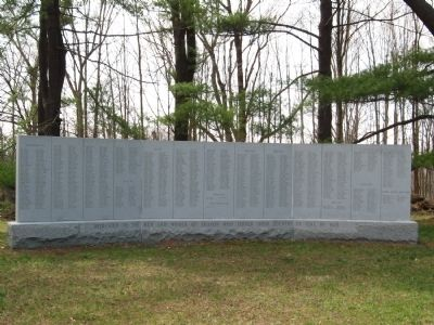 Sharon Veterans Monument image. Click for full size.