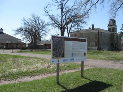 Fort Snelling Upper Post Sign image. Click for full size.