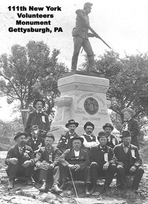 111th New York Infantry Marker image. Click for full size.