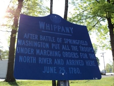 Whippany Marker image. Click for full size.
