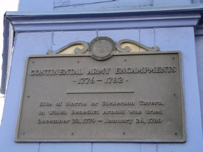 Continental Army Encampments Marker image. Click for full size.