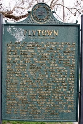 Flytown Marker, Side Two image. Click for full size.