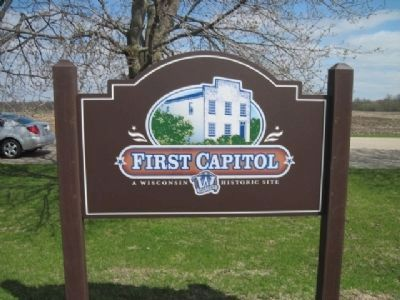 First Capitol Marker image. Click for full size.