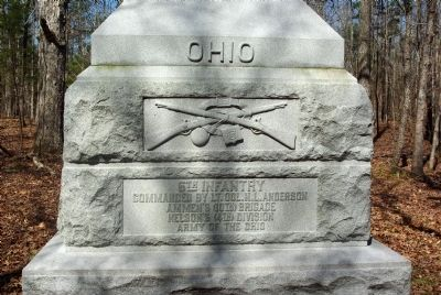 6th Ohio Infantry Marker image. Click for full size.