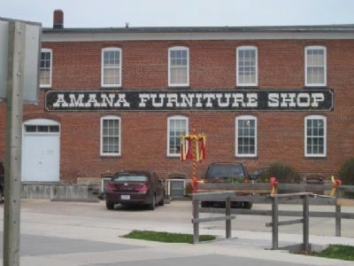 The Amana Furniture Shop in the village of Amana image. Click for full size.