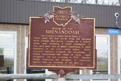 Wreck of the Shenandoah Marker image. Click for full size.