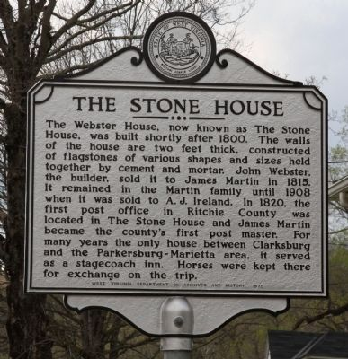 The Stone House Marker image. Click for full size.